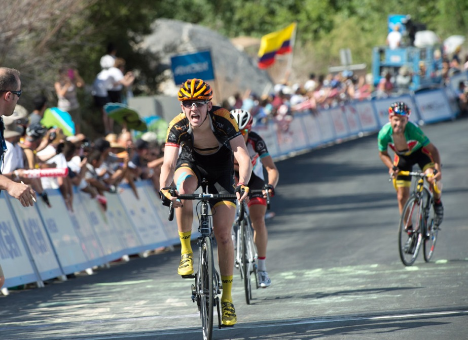 Chad finished sixth on the mountainous stage to Greater Palm Springs (optumprocycling.com)