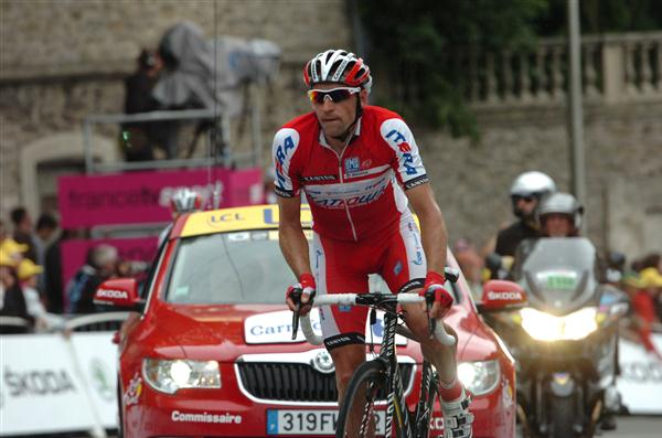 Menchov at Katusha in 2012