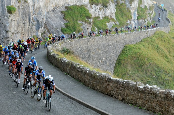 GC contenders lead the way on the Great Orme (TOB)