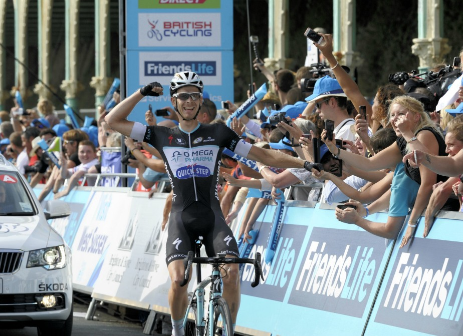 Julien Vermote wins OPQS's third stage of the Tour (SweetSpot)