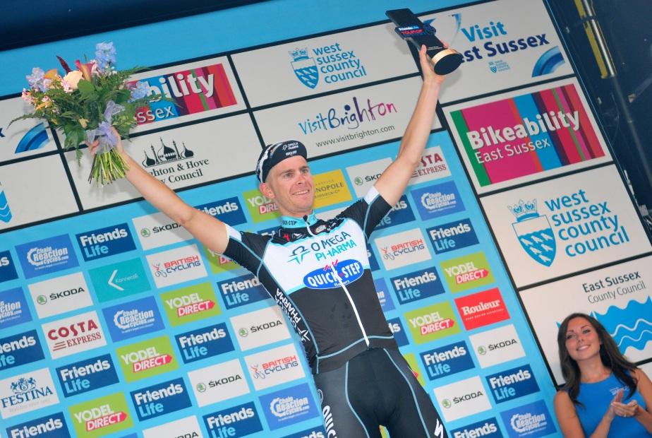 Julien Vermote won in Brighton (SweetSpot)