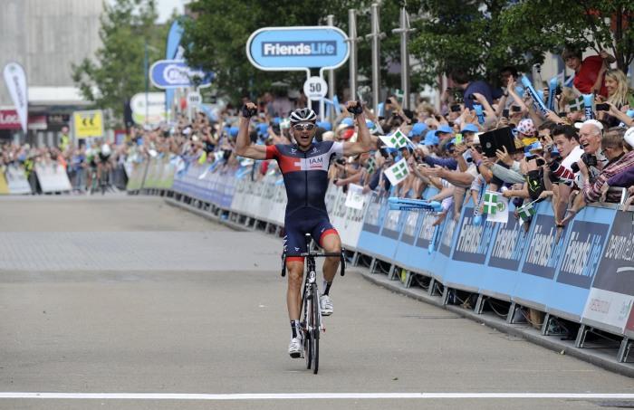 Matthias Brändle takes the win on stage 5 (SweetSpot)