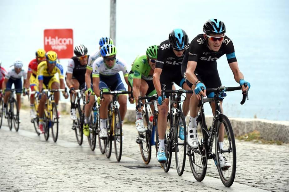 Team Sky at the Vuelta (ASO)