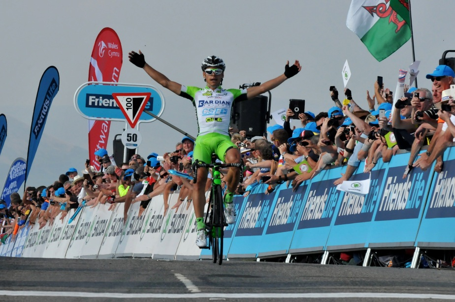 Edoardo Zardini wins the Queen stage on The Tumble (SweetSpot)