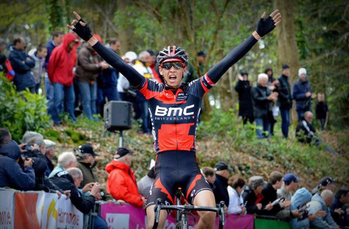 Dylan Teuns at the 2014 Tour de Bretagne