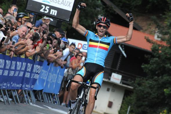 Teuns wins at the Tour de l'Avenir