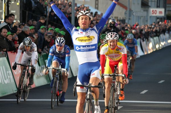 Sprinting to victory at Cholet-Pays Loire