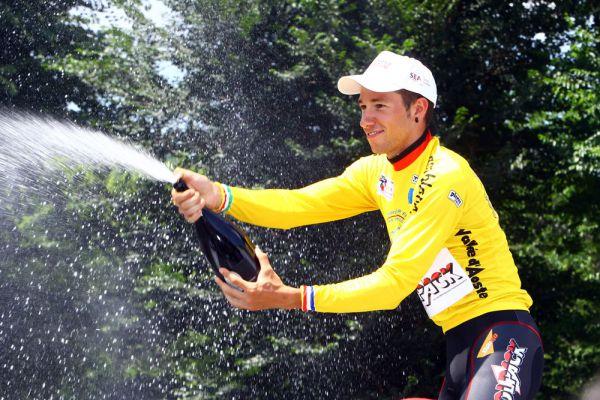Overall victory at the 2013 Giro della Valle d'Aosta