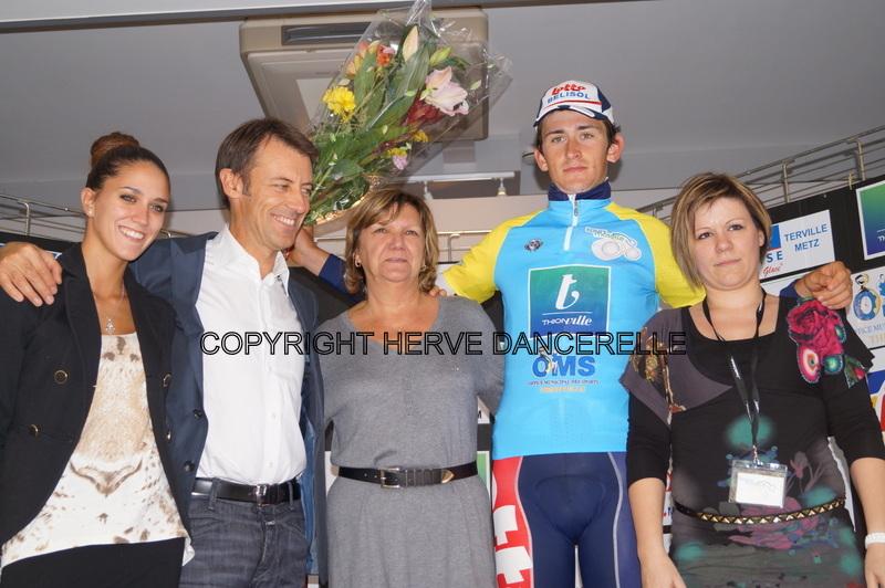 Winning the Tour de Moselle (Herve Dancerelle)