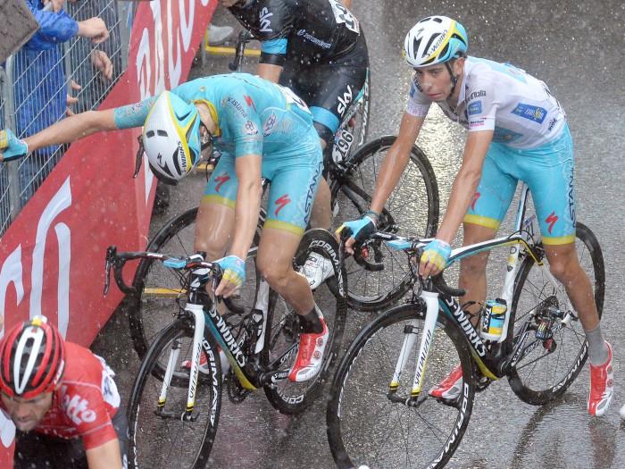 Fabio Aru's face says it all after stage twelve (ANSA/Luca Zennaro)