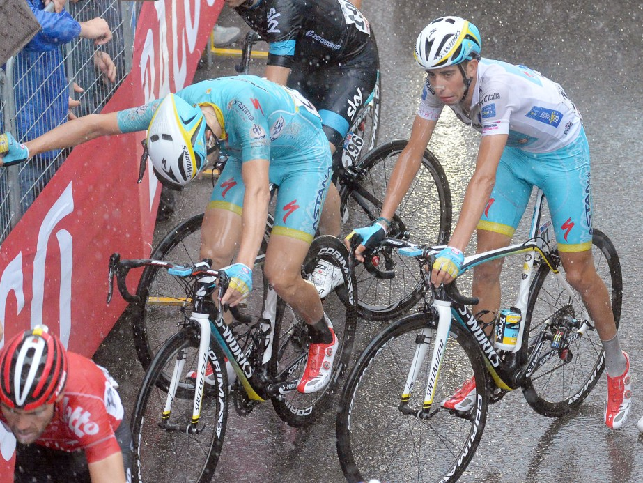 Fabio Aru's face says it all after stage twelve (ANSA/Luca Zennaro)