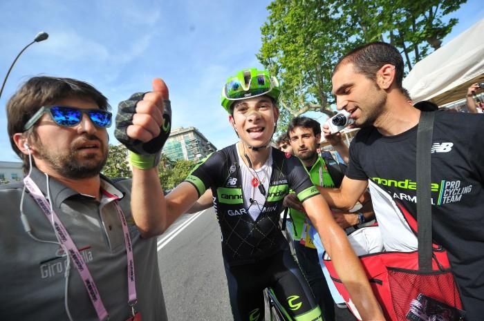Giro stage 4 Formolo celebration (ANSA - DAL ZENNARO - PERI)