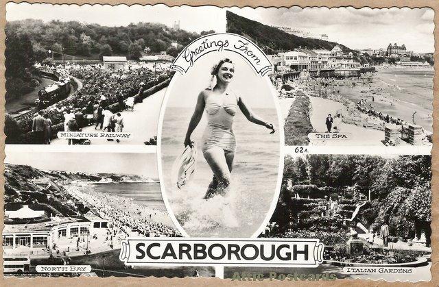 Scarborough postcard (atticpostcards.com)
