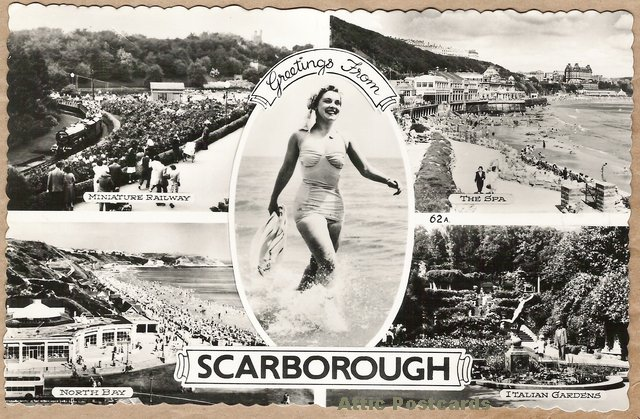 Scarborough postcard (atticpostcards.com)