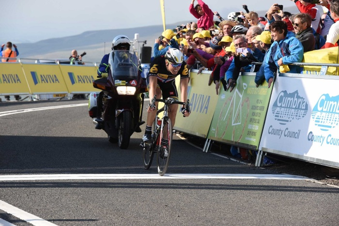 Boasson Hagen lost out on the day but took the yellow jersey (Sweetspot)
