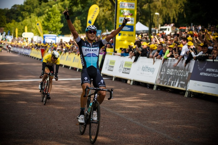Trentin leads  the yellow jersey home (SweetSpot)