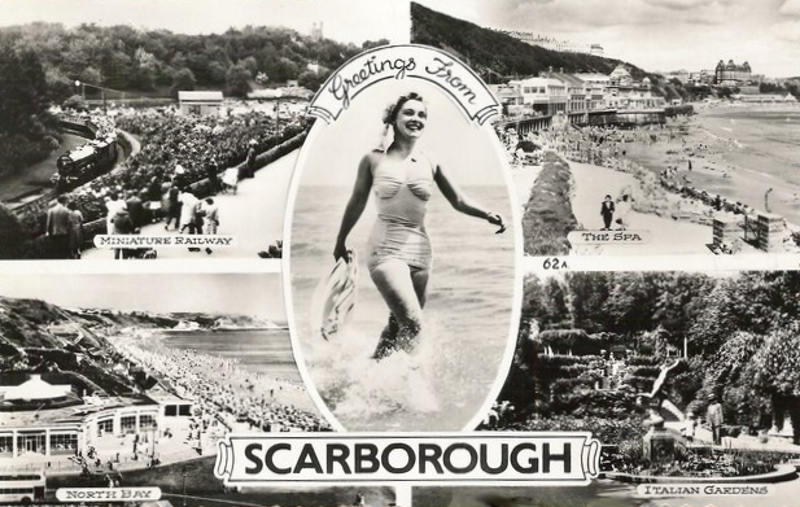 scarborough postcard